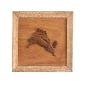 Handcrafted horse art